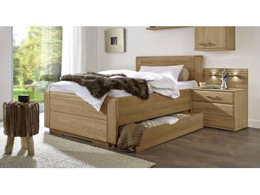 Bett im Landhausstil Raida in 100x210 cm, Braun, mehr Farben und Größen auf Betten.de
