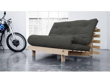 Futon-Schlafsofas Campoli in 90x200 cm, Grau, mehr Farben und Größen auf Betten.de