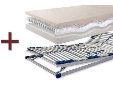 Visco Matratze Lattenrost im Set Ergowell-Combi - 140x200 cm - Matratzen-Set