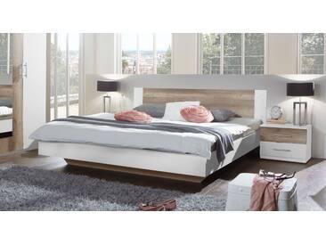 Designerbett Boquila in 140x200 cm, Weiß, mehr Farben und Größen auf Betten.de