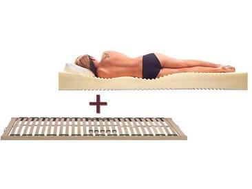 Lattenrost Matratze Set Lineavita-Combi - 140x200 cm - Matratzen-Set