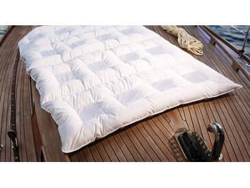 Daunen-Bettdecke clima balance comfort medium 155x220 cm