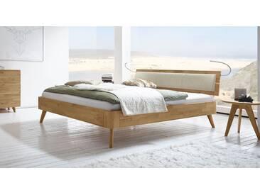 Massivholzbett Minoa in 160x210 cm, Braun, mehr Farben und Größen auf Betten.de