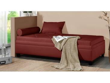 Polsterliege Kamina in 100x200 cm, Rot, mehr Farben und Größen auf Betten.de