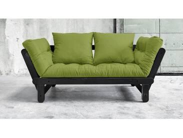Futon-Schlafsofas Faleria in 75x200 cm, Grün, mehr Farben und Größen auf Betten.de