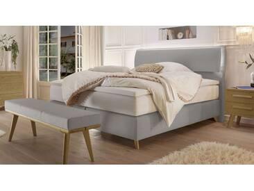 Boxspringbett Somera in 200x200 cm, Grau, mehr Farben und Größen auf Betten.de
