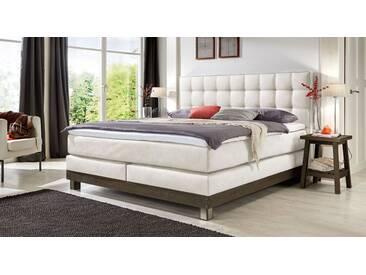 Boxspringbett Irving in 140x200 cm, Weiß, mehr Farben und Größen auf Betten.de