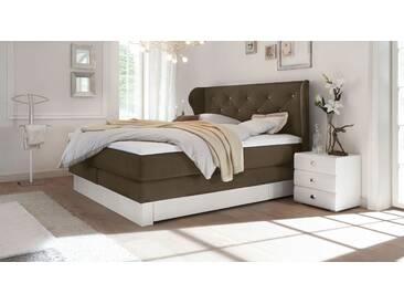 Boxspringbett Belica in 180x200 cm, Braun, mehr Farben und Größen auf Betten.de