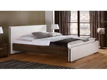 Massivholzbett Amadora in 180x220 cm, Braun, mehr Farben und Größen auf Betten.de