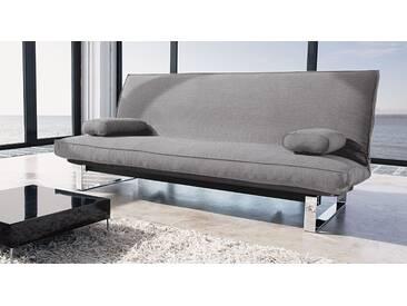 Querschläfer-Schlafsofa Astoria in 140x200 cm, Grau, mehr Farben und Größen auf Betten.de