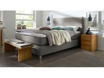 Boxspringbett Paguera in 100x200 cm, Grau, mehr Farben und Größen auf Betten.de