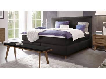 Boxspringbett Marum in 160x200 cm, Schwarz, mehr Farben und Größen auf Betten.de