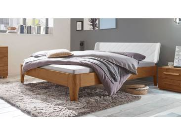 Massivholzbett Viamao in 200x200 cm, Braun, mehr Farben und Größen auf Betten.de