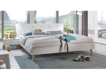 Designerbett Corvara in 160x200 cm, Weiß, mehr Farben und Größen auf Betten.de