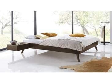 Massivholzbett Andros in 100x220 cm, Braun, mehr Farben und Größen auf Betten.de