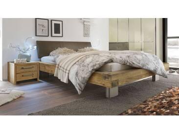 Massivholzbett Limeira in 200x220 cm, Braun, mehr Farben und Größen auf Betten.de