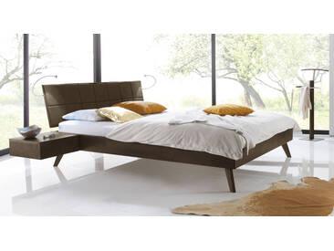 Massivholzbett Andros in 180x210 cm, Braun, mehr Farben und Größen auf Betten.de