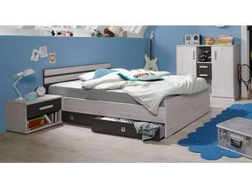 Jugendbett Mereto in 140x200 cm, Weiß, mehr Farben und Größen auf Betten.de
