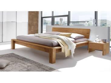 Hasena Massivholzbett Evora in 140x200 cm, Braun, mehr Farben und Größen auf Betten.de
