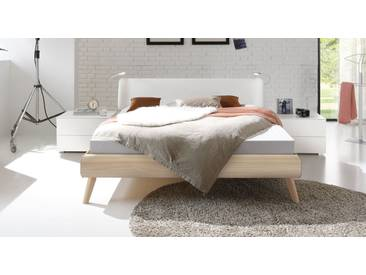 Designerbett Labrea in 200x200 cm, Weiß, mehr Farben und Größen auf Betten.de