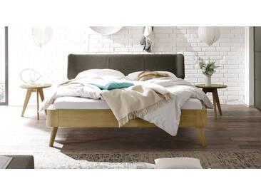 Massivholzbett Rakaia in 140x200 cm, Beige, mehr Farben und Größen auf Betten.de
