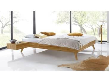 Massivholzbett Andros in 90x220 cm, Braun, mehr Farben und Größen auf Betten.de