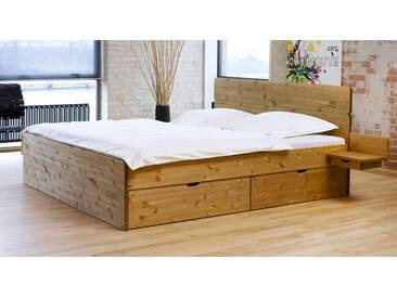 Bett mit Stauraum Finnland in 180x200 cm, Beige, mehr Farben und Größen auf Betten.de