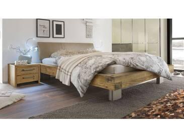 Massivholzbett Limeira in 200x200 cm, Braun, mehr Farben und Größen auf Betten.de