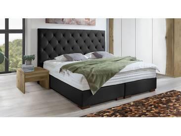 Boxspringbett Belfast in 180x200 cm, Schwarz, mehr Farben und Größen auf Betten.de
