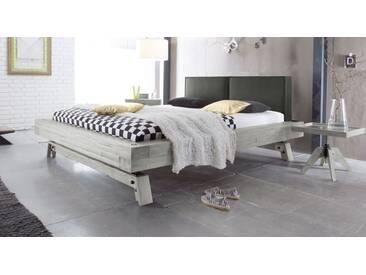 Massivholzbett Salo in 200x200 cm, Weiß, mehr Farben und Größen auf Betten.de