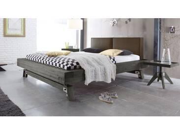 Massivholzbett Salo in 140x220 cm, Grau, mehr Farben und Größen auf Betten.de
