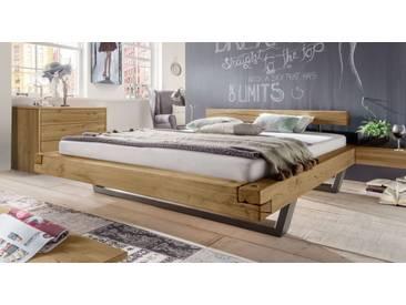 Massivholzbett Darica in 200x200 cm, Braun, mehr Farben und Größen auf Betten.de