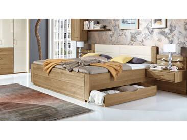 Bett im Landhausstil Toride in 200x220 cm, Braun, mehr Farben und Größen auf Betten.de