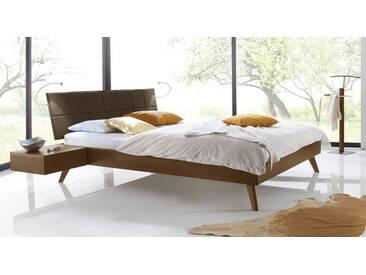 Massivholzbett Andros in 180x220 cm, Braun, mehr Farben und Größen auf Betten.de