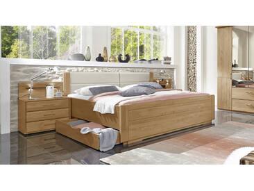 Bett im Landhausstil Narita in 180x210 cm, Beige, mehr Farben und Größen auf Betten.de