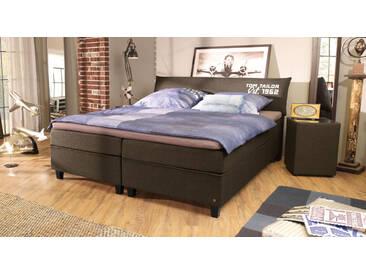 Boxspringbett Tom Tailor Color in 90x200 cm, Schwarz, mehr Farben und Größen auf Betten.de