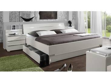 Bett mit Stauraum Salford in 180x200 cm, Weiß, mehr Farben und Größen auf Betten.de