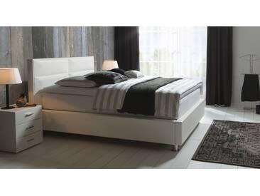 Boxspringbett Kopenhagen in 180x210 cm, Weiß, mehr Farben und Größen auf Betten.de