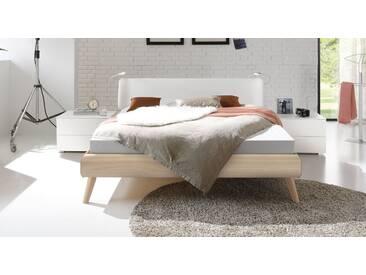 Designerbett Labrea in 160x220 cm, Weiß, mehr Farben und Größen auf Betten.de