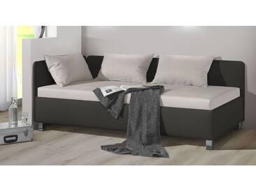 Polsterliege Lisala in 90x200 cm, Grau, mehr Farben und Größen auf Betten.de