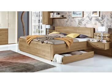 Bett im Landhausstil Toride in 200x200 cm, Braun, mehr Farben und Größen auf Betten.de