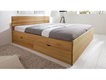 Bett mit Stauraum Finnland in 200x200 cm, Braun, mehr Farben und Größen auf Betten.de