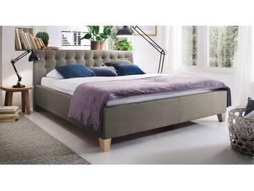 Polsterbett Batana in 180x200 cm, Braun, mehr Farben und Größen auf Betten.de