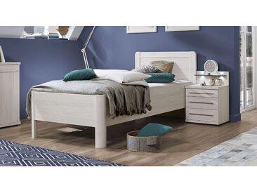 Bett 90x200 cm Bettrahmenhöhe 48  cm -  ohne Bettschubkasten - Apolda - Seniorenbett
