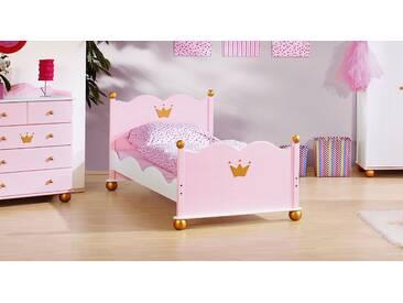 Kinderbett Prinzessin Karolin in 90x200 cm, Rosa, mehr Farben und Größen auf Betten.de