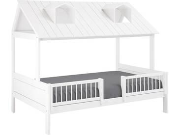 Kinderbett Ferienhaus in 120x200 cm, Weiß, mehr Farben und Größen auf Betten.de