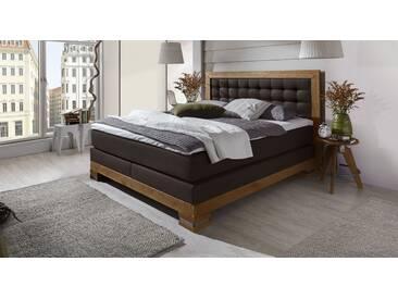 Boxspringbett Aronia in 140x200 cm, Braun, mehr Farben und Größen auf Betten.de