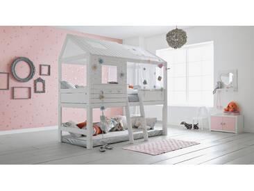 Spielbett Sternenglanz in 90x200 cm, Weiß, mehr Farben und Größen auf Betten.de