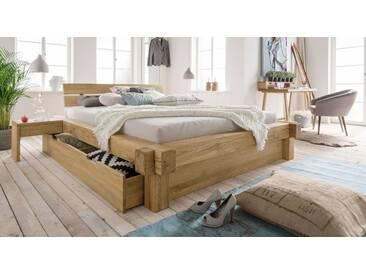 Massivholzbett Doba in 200x200 cm, Braun, mehr Farben und Größen auf Betten.de