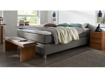 Boxspringbett Paguera in 100x210 cm, Grau, mehr Farben und Größen auf Betten.de